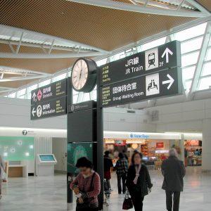 新千歳空港国際線案内板
