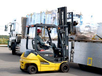 トラック輸送2